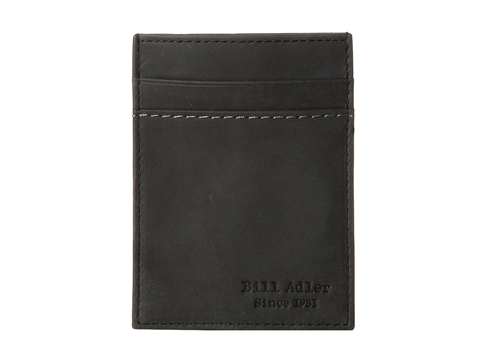 Bill Adler 1981 - Crazyhorse Front Pocket Wallet (Black) Bill-fold Wallet