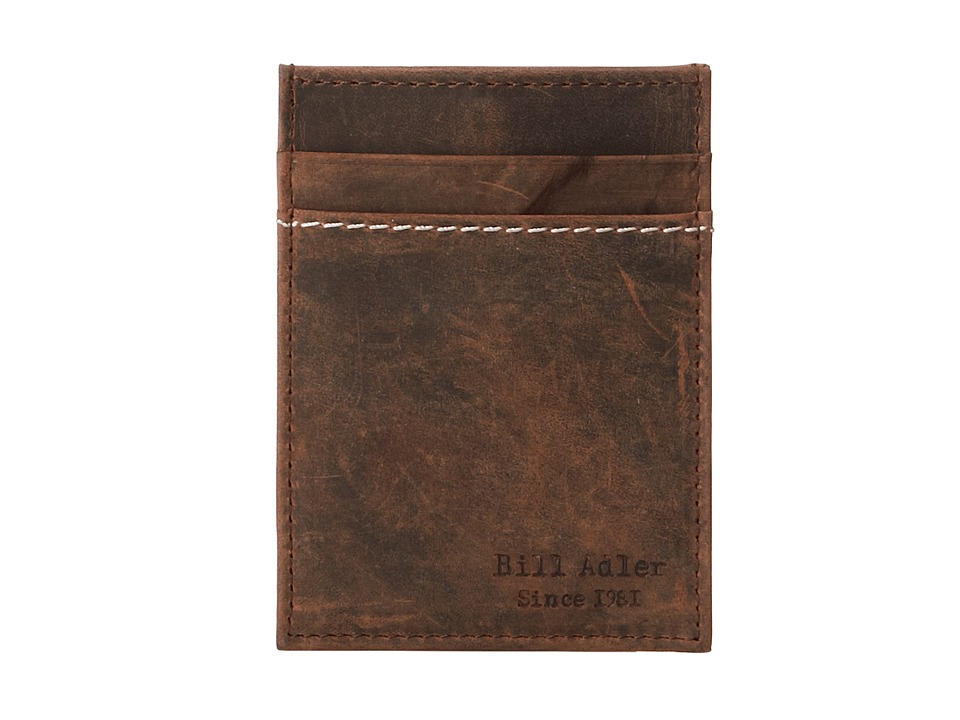 Bill Adler 1981 - Crazyhorse Front Pocket Wallet (Brown) Bill-fold Wallet