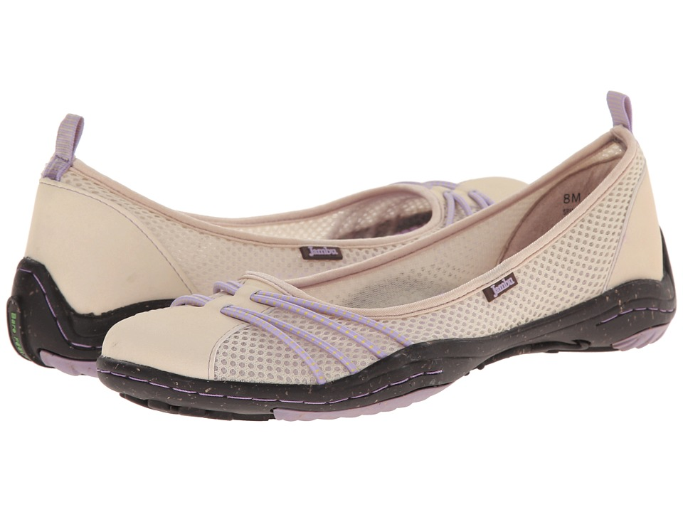 Jambu - Spin-Too - Barefoot (Tan/Lavender) Women's Flat Shoes