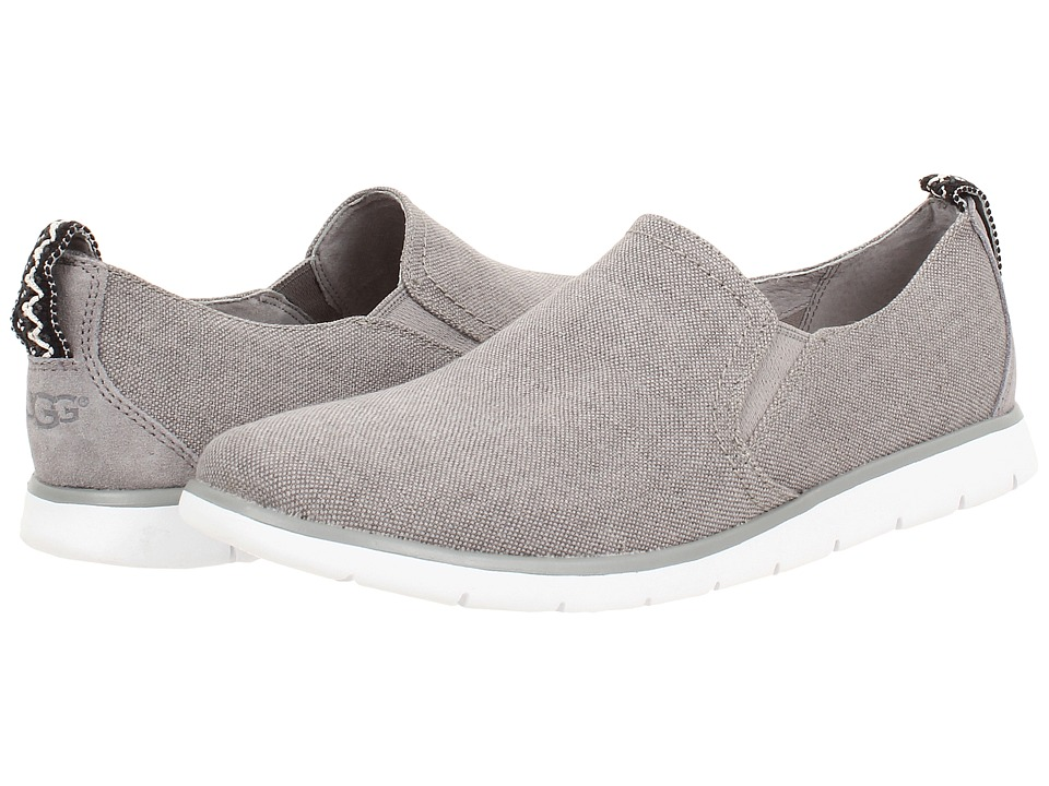 UGG - Conley (Seal Canvas) Men's Slip on Shoes