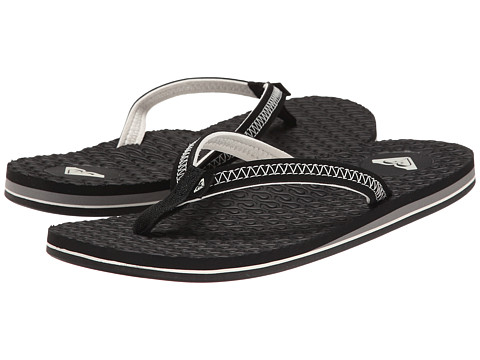 Roxy - Lava (Black) Women's Sandals