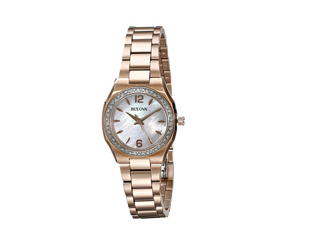 Bulova - Ladies Dress - 98R205 (Rose) Dress Watches
