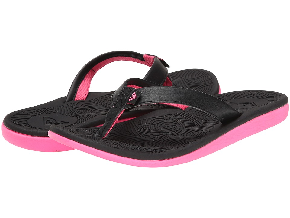 Roxy - Hail (Black) Women's Sandals