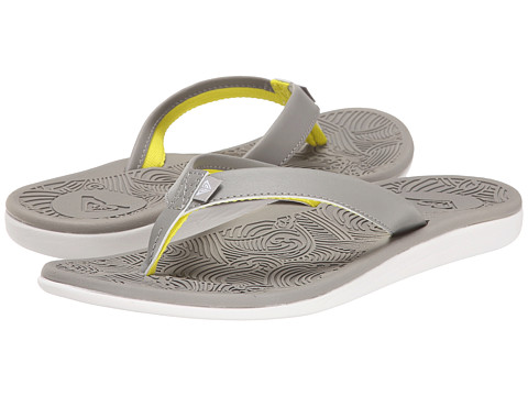 Roxy - Hail (Light Grey) Women's Sandals