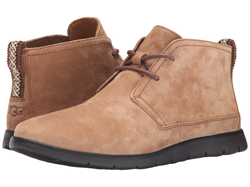 UGG - Freamon (Chestnut Suede) Men's Lace-up Boots