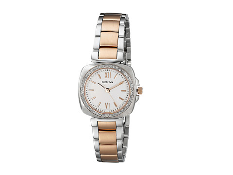Bulova - Ladies Diamond - 98R206 (Two-Tone) Dress Watches