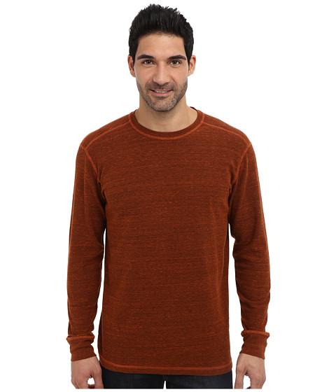 Agave Denim - Atascadero L/S Crew (Umber) Men's T Shirt