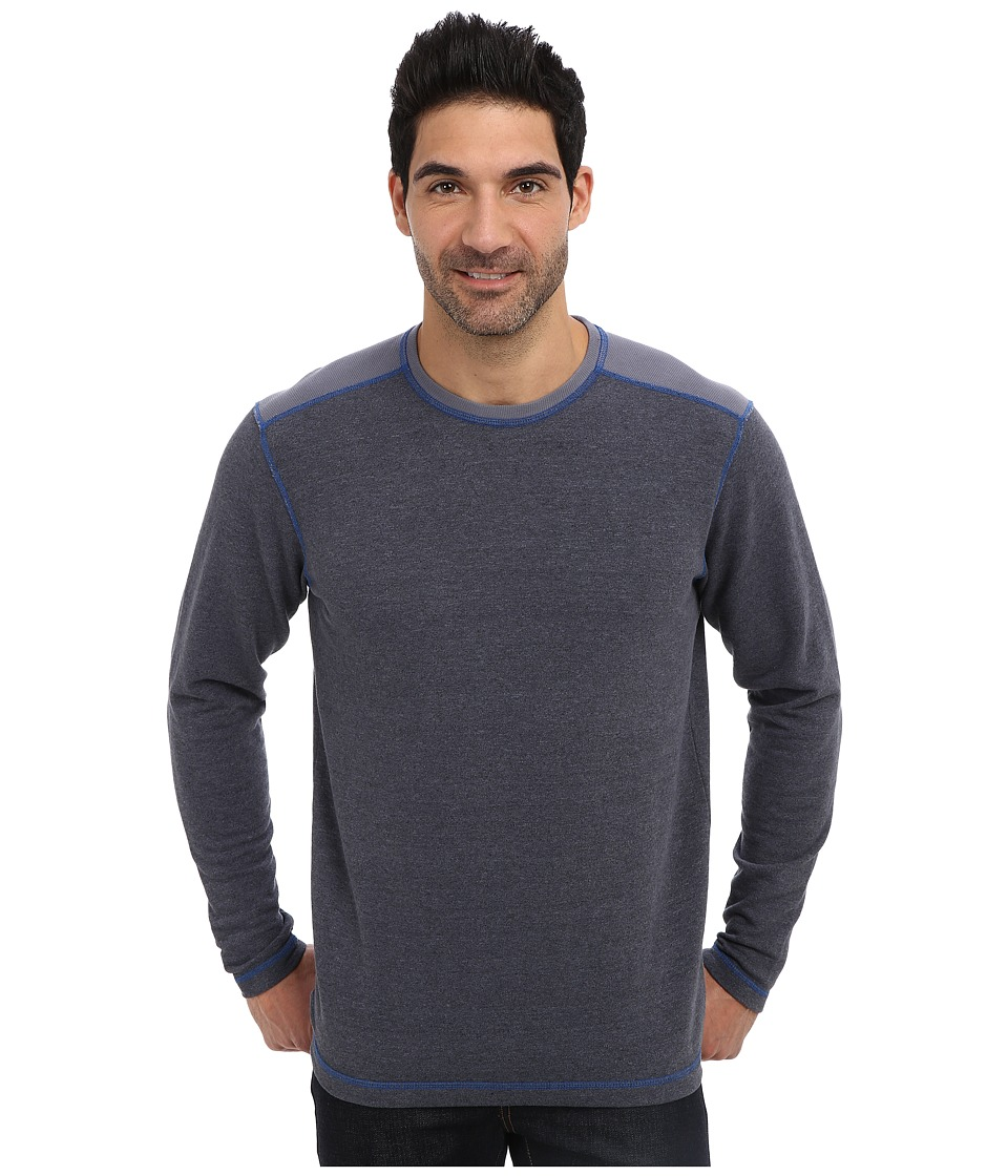 Agave Denim - Bellingham L/S Crew (China Blue) Men