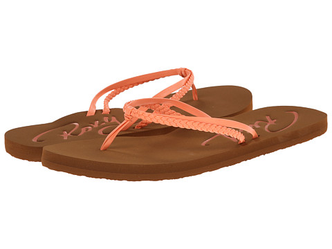 Roxy - Cabo (Coral) Women's Sandals
