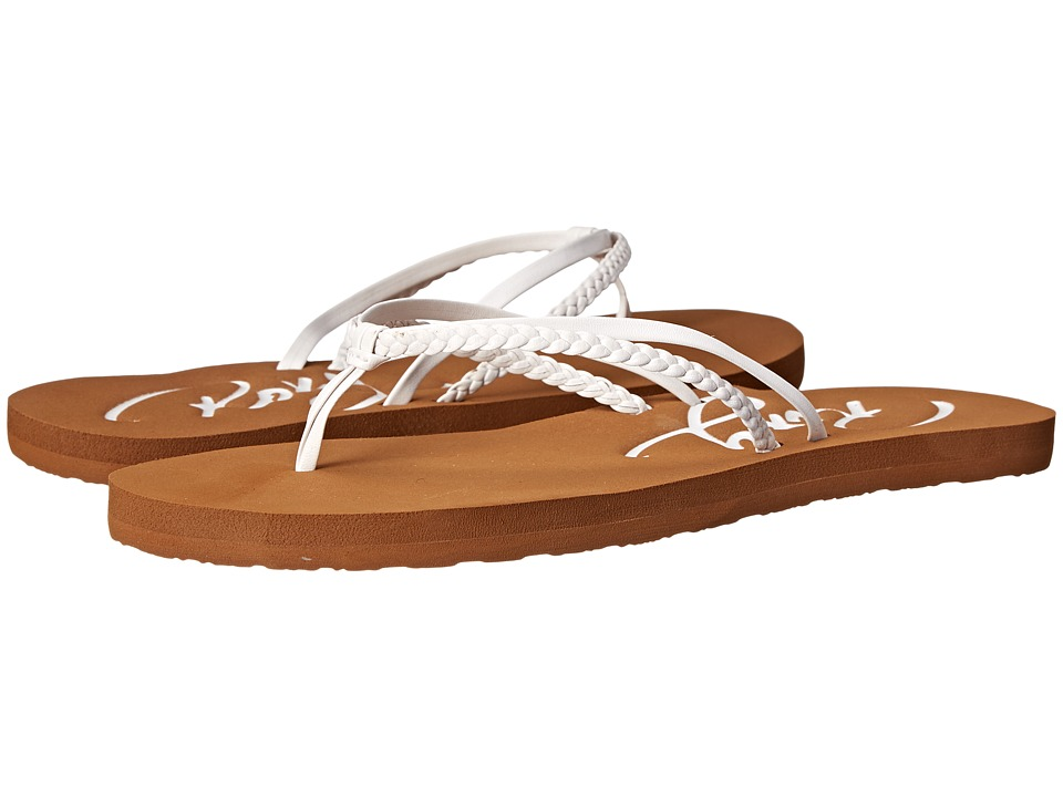 Roxy - Cabo (White) Women's Sandals