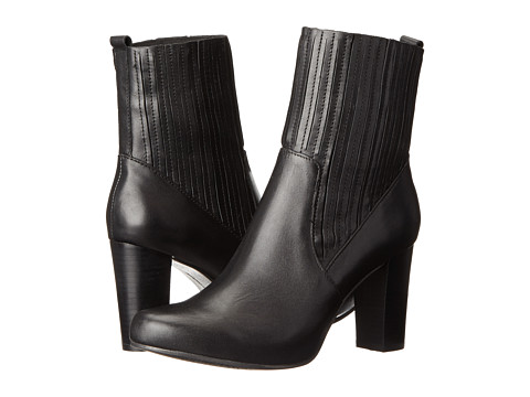 Kenneth Cole Reaction - City Break (Black Leather) Women's Dress Boots