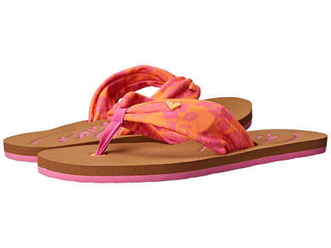 Roxy - Caribe '15 (Orange Peel) Women's Sandals