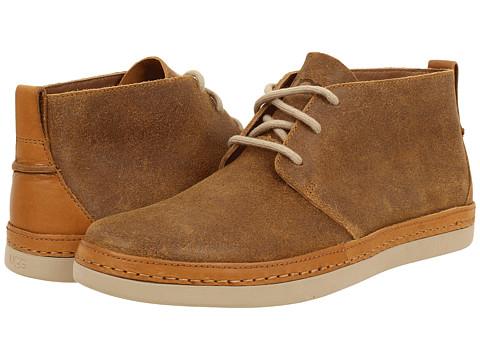 UGG - Deklan (Chestnut Leather) Men's Lace-up Boots