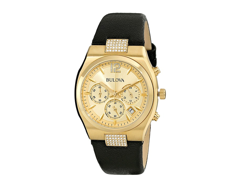 Bulova - Ladies Crystal - 97M107 (Yellow) Dress Watches