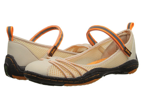 Jambu - Alley - Barefoot (Cream/Citrus) Women's Maryjane Shoes