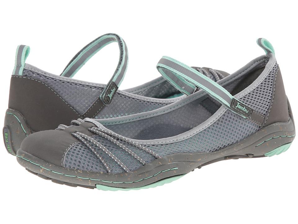 Jambu - Alley - Barefoot (Grey/Glass) Women's Maryjane Shoes