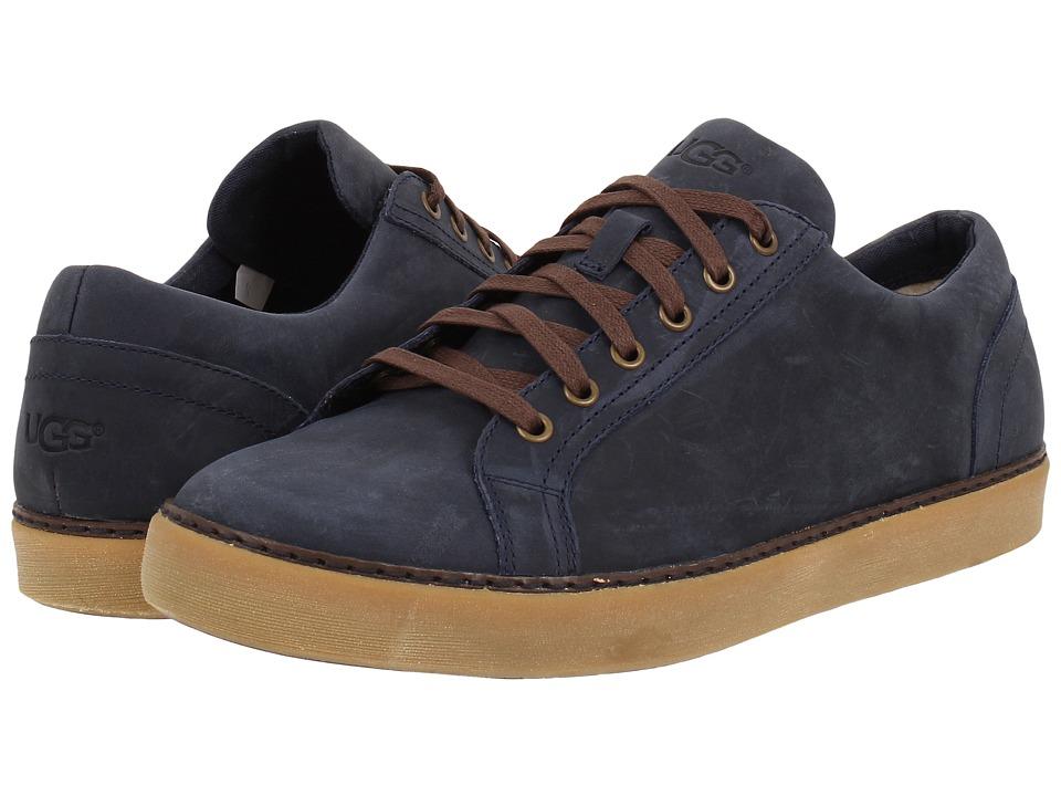 UGG - Kolman (Navy Leather) Men's Shoes