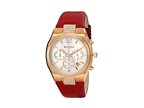 Bulova - Ladies Crystal - 97M108 (Rose) Dress Watches