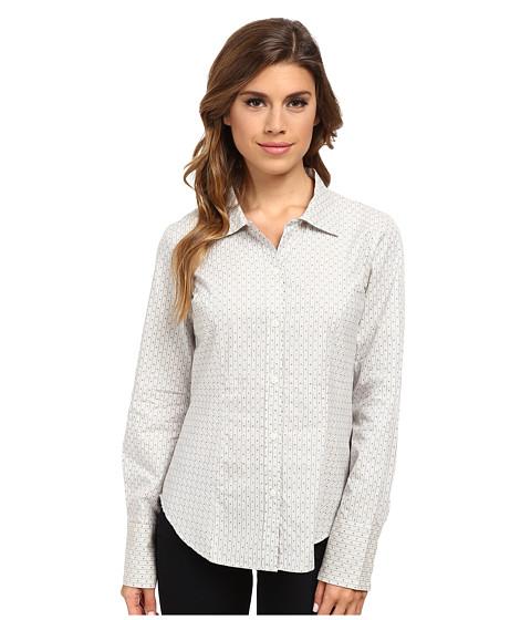 Pendleton - Chevron Stripe Shirt (Ivory Stripe Shirting) Women