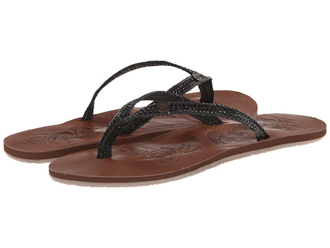 Roxy - Chia II (Black) Women's Sandals
