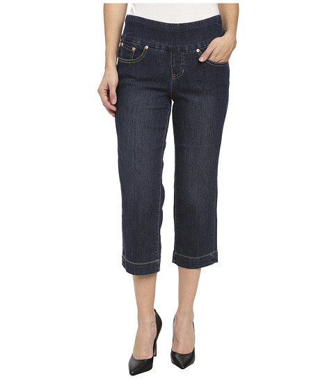 Jag Jeans Petite - Petite Caley Classic Fit Crop in Blue Shadow (Blue Shadow) Women
