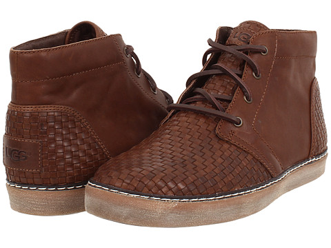 UGG - Alin Woven (Cognac Leather) Men