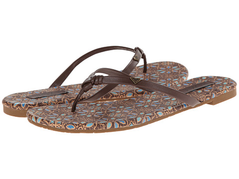 Roxy - Silvia (Chocolate) Women's Sandals