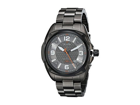 Bulova - Mens Precisionist - 98B225 (Black) Dress Watches