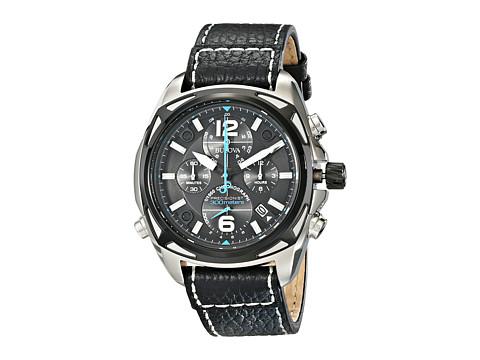 Bulova - Mens Precisionist - 98B226 (Black) Dress Watches