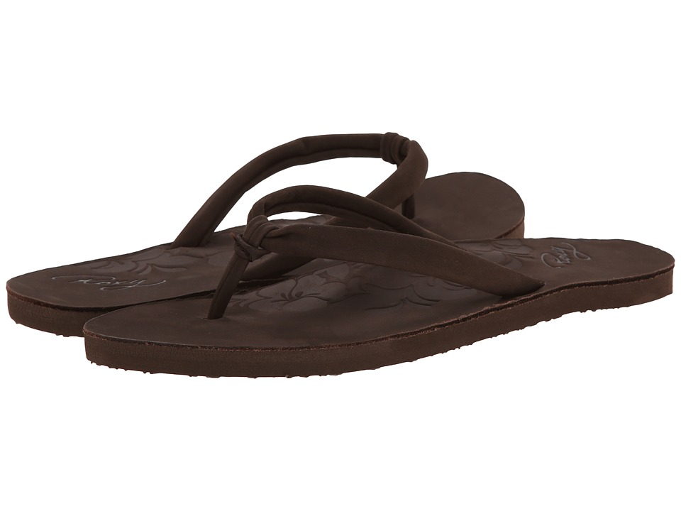 Roxy - Biscay (Brown) Women's Sandals