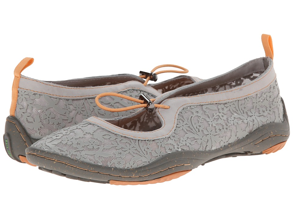 Jambu - Yogi - Barefoot (Grey) Women's Flat Shoes