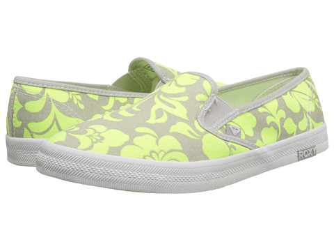 Roxy - Redondo II (Neon Yellow) Women's Slip on Shoes