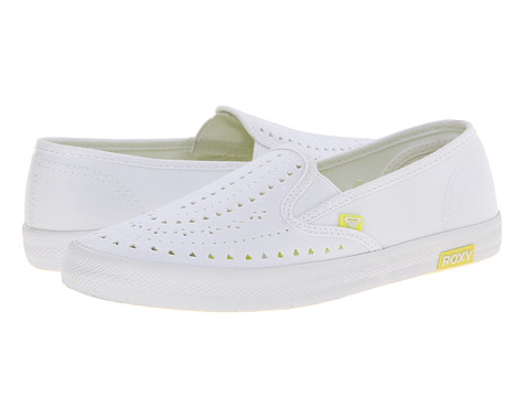 Roxy - Redondo II (White/White) Women's Slip on Shoes