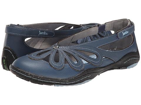 Jambu - Blush - Barefoot (Denim Blue) Women's Flat Shoes