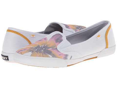 Roxy - Malibu '15 (Cream) Women's Wedge Shoes