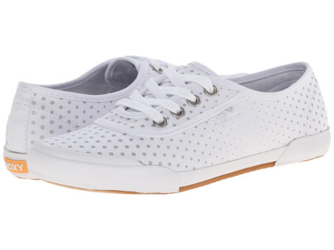 Roxy - Santa Cruz (White/Silver) Women