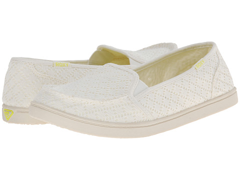 Roxy - Lido III (Natural) Women's Slip on Shoes