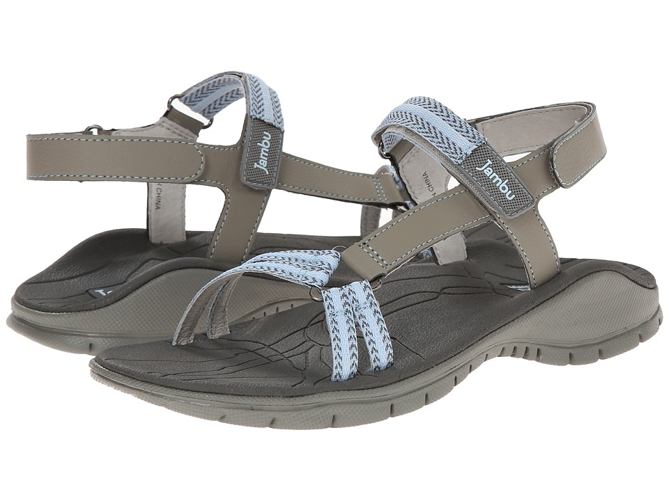 Jambu - Hudson (Grey/Stone Blue) Women's Sandals