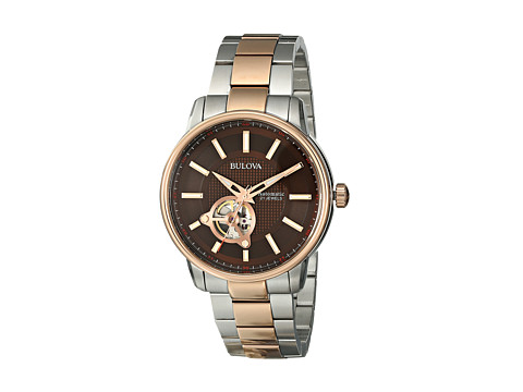 Bulova - Mens Automatic - 98A140 (Rose) Dress Watches