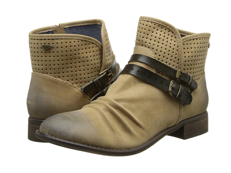 Roxy - Morrison (Tan) Women's Pull-on Boots