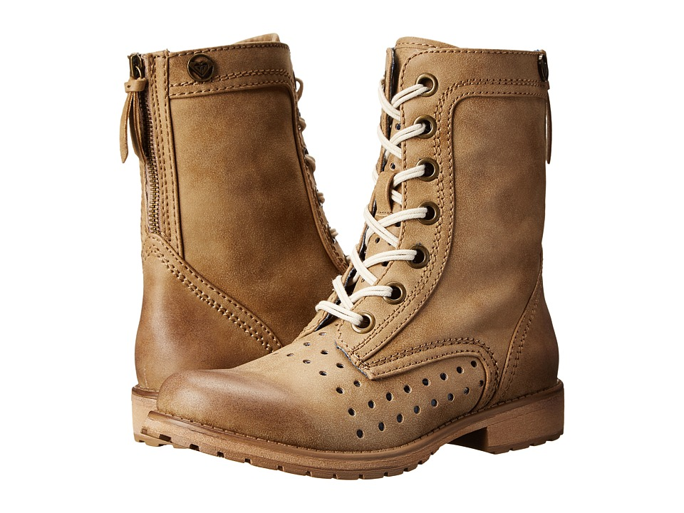 Roxy - Pierce (Tan) Women's Lace-up Boots