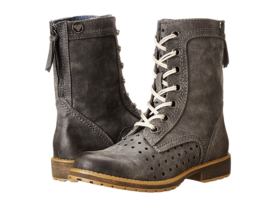 Roxy - Pierce (Black) Women's Lace-up Boots