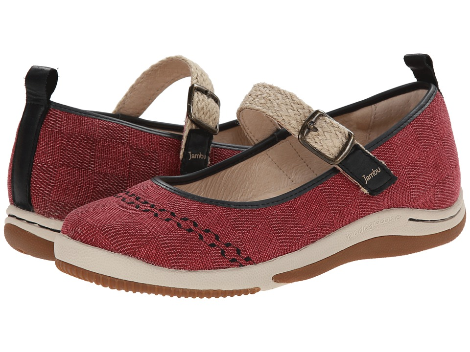 Jambu - Rosie - Eco (Red) Women's Shoes