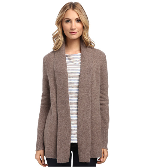 Pendleton - Pettygrove Cardigan (Soft Brown Heather) Women's Sweater