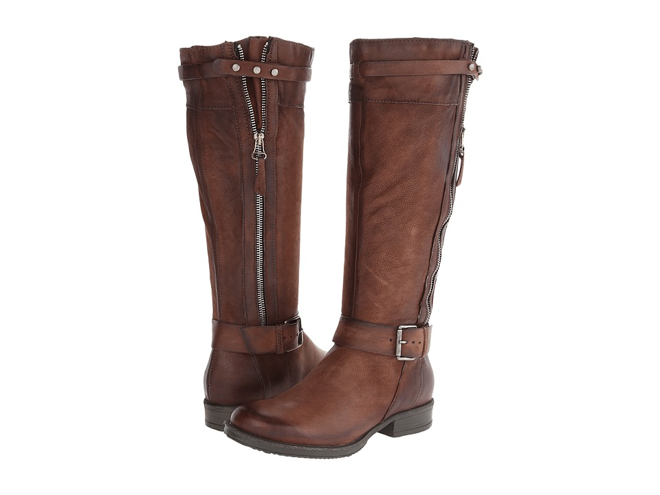 Miz Mooz - Nicola Wide Calf (Cognac) Women's Dress Boots