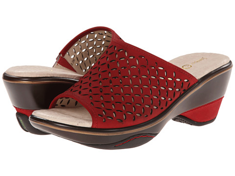 Jambu - Ronnie (Red) Women's Sandals