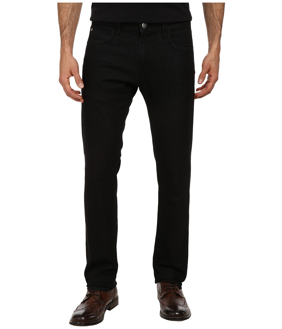 Agave Denim - Modernist Terry Denim Jean in Black (Black) Men's Jeans