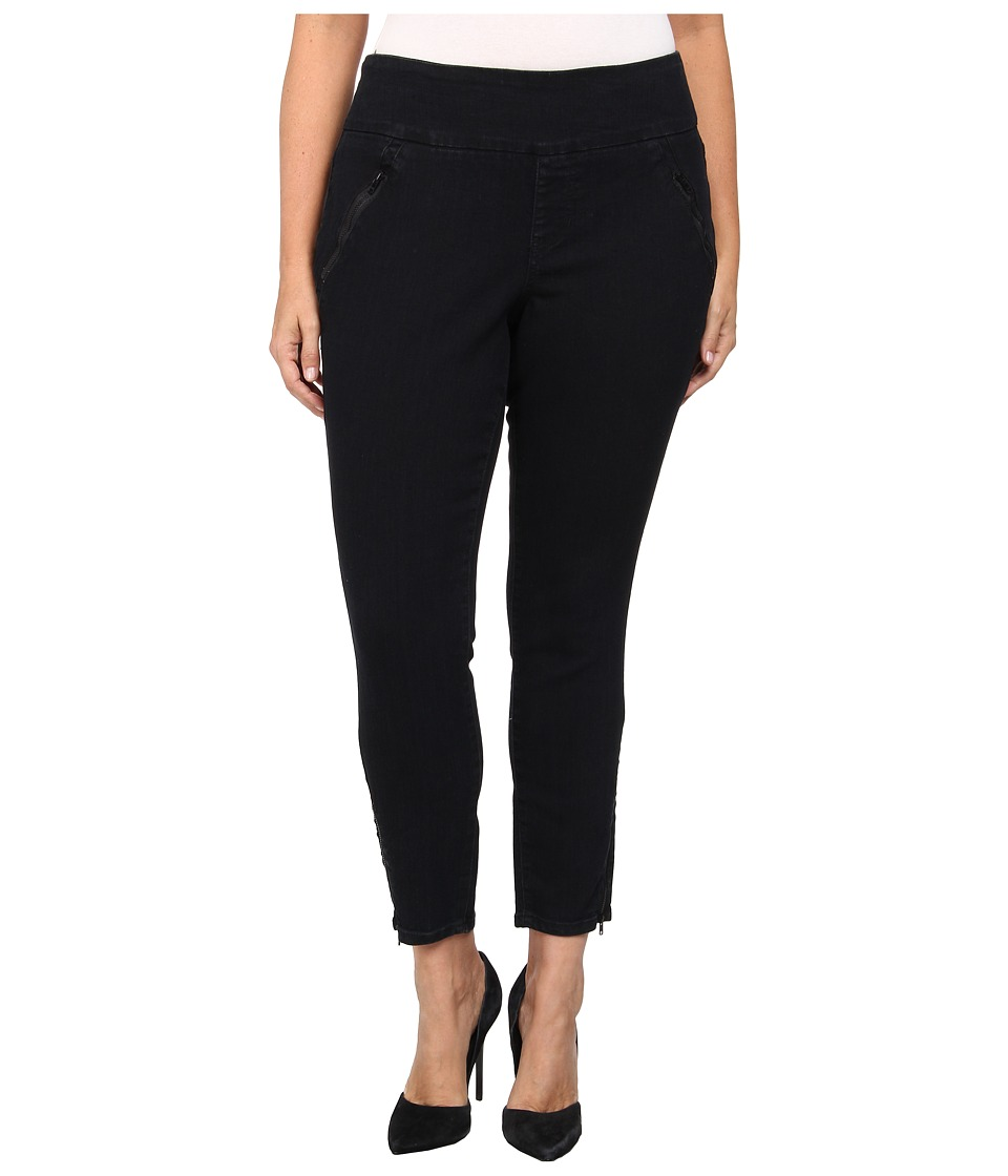 Jag Jeans Plus Size - Plus Size Stacy Skinny in Black Void (Black Void) Women's Casual Pants plus size,  plus size fashion plus size appare