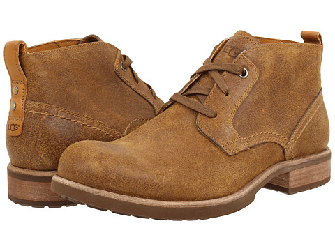 UGG - Brompton (Chestnut Leather) Men's Shoes