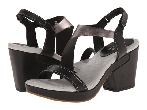 Jambu - Jasmine (Black/Gunmetal) Women's Sandals